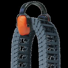 E6 - гибкие кабельные каналы открытого типа
